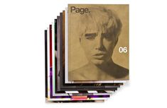 Page. The Magazine issues 01 to 10