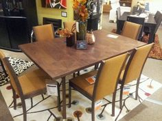 Skovby Walnut Extendable Dining Table And Chairs Now On Floor At Forma  Furniture As Of 11. Fort CollinsExtendable ...