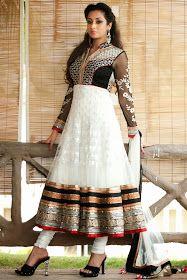 Beautiful Indian Dresses ♥ New Designer Stylish Floor Length Bridal Wear Anarkali Frocks Collection