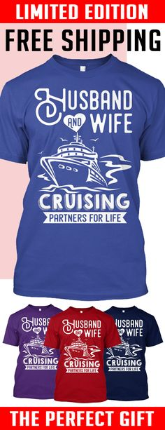 Cruising Partners For Life - LTD ED - Limited edition. 2 days left for Free Shipping. Makes a perfect gift!