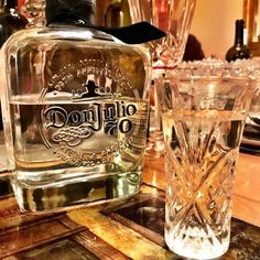 Chente & @donjuliotequila at @mamareyess house. It's gonna be that kinda night!