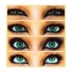 Oh let's make up ❤ liked on Polyvore featuring beauty products, makeup, eye makeup, eyes, beauty, pictures, green eye makeup, green makeup and green cosmetics