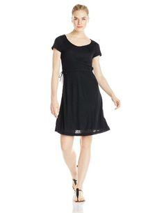 Elegant Black Sexy Women's Cinch Dress