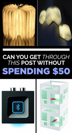 Can You Get Through This Post Without Spending $50