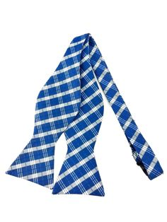 We at AristoTIES have a great selection of checked self-tied bow ties for every occasion. The checks pattern will never go out of fashion! The yale blue & white are a cool addition to your plain colored outfit, or just for your wardrobe collection. Ties Online, Formal Tie, Bowties, Wedding Men, Shades Of Blue, Groomsmen, Going Out, Blue And White, Patterns