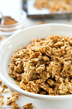 Chai/Hemp/Cacao on Pinterest | Granola, Hemp Seeds and Best Granola
