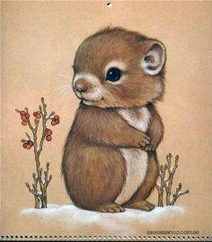 Syds Illustrations Baby Possums Kawaii Pinterest