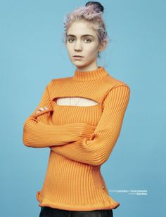 Grimes for Modzik Magazine Ph: Sascha Heintze Stylist: Nicolas Dureau