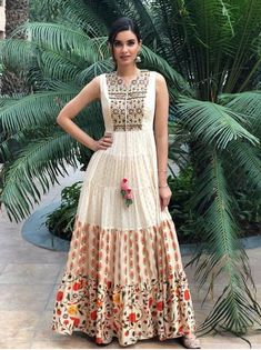 Diana Penty has managed to pull it off in these traditional outfits. Multi Colour Top Fabric Muslin and Banarasi Silk Bottom Color Bottom Fabric Top Max Length 60 Top Max Bust 44 Semi Stitched Occasion Sangeet Pakistani Dresses, Indian Dresses, Indian Outfits, Pakistani Bridal, Silk Anarkali Suits, Anarkali Gown, Diana Penty, Kurta Designs, Designer Gowns