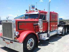 Peterbilt 359, Peterbilt Trucks, Cool Trucks, Big Trucks, Cab Over, Vintage Trucks, Semi Trucks, Rigs, Trailers