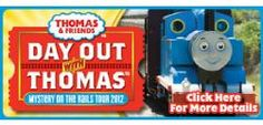 Boothbay Railway Village also features a day with Thomas the Tank Engine (during the summer months, check date).