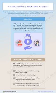 What is #bitcoinlending and how does it benefit the lenders and borrowers? What is a #BTCloan and how to opt for it? Let's have a look!  VISIT:- http://www.slideshare.net/DigitalCoinsExchange/bitcoin-lending-a-smart-way-to-invest  #infographic #business #enterprenuership
