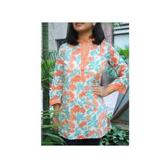 Chidiyaa provides authentic Indian handcrafted women's clothing in traditional block prints and weaves. Printed Cotton, Tunic Tops, Indian, Clothes For Women, Kurtis, Blouse, Floral, Prints, Beautiful