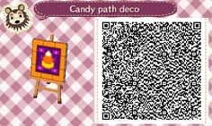 """projectsnt: """" Need some Halloween decorations for your town? Try out these cute tiles I made for mine! They also look great on custom design signs! """""""