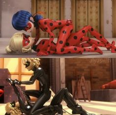 i don't understand what this is trying to say *nervous laughing*--> is it weird that I ship Chat Noir with Chat Noir? Lady Bug, Miraculous Ladybug Fanfiction, Miraculous Ladybug Memes, Meraculous Ladybug, Ladybug Comics, Ladybug Und Cat Noir, Adrien Y Marinette, Miraculous Ladybug Wallpaper, Kids Tv