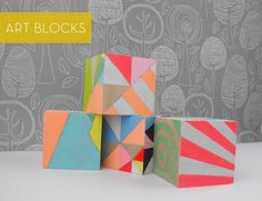 Sketchinc :: Geometric Art Blocks - MAIYA - MY ADVENTURE IS YOUR ADVANTAGE :: ART / DESIGN / FASHION / DECOR