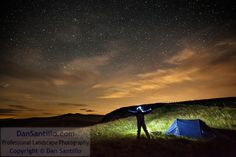 Me and my tent on Craig Cerrig-gleisiad with Pen y Fan and Corn Du by Dan Santillo Buy Photos, Professional Photography, Landscape Photography, Tent, Northern Lights, Thats Not My, Gallery, Travel, Store