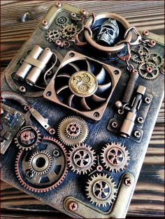 Steampunk diy 155303887189991748 - Steampunk journal notebook steampunk notepad steampunk journal diary blank book Source by etsy Arte Steampunk, Steampunk Book, Steampunk Crafts, Steampunk Design, Steampunk Clothing, Steampunk Fashion, Steampunk Costume, Crafts To Sell, Fun Crafts