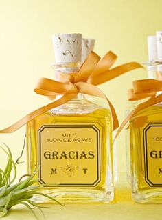 wedding favors; cute for my Puerto Rican side. filled with tequila of course ;) lol