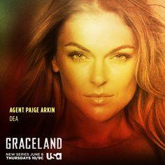 Agent Paige Arkin - DEA