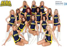 ALBA Dancers: ALBA BERLIN Basketballteam