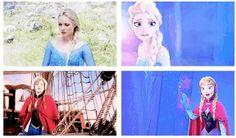 Last night, Once Upon a Time premiered its new Frozen storyline.