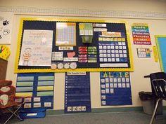 A day in first grade: classroom pics