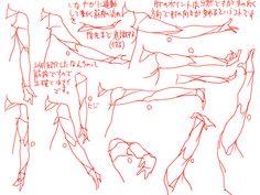 個人的な腕(肘)肩の描き方 [2] もっと見る