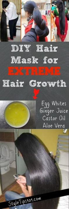 This super simple and nourishing DIY hair mask hydrates dry, damaged hair starting from the roots and all the way to the tips.