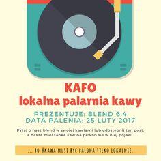 ... bo #kawa musi być palona tylko lokalnie.  #KAFO data palenia: 25 luty 2017 (blend 6.4)