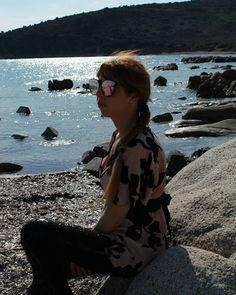 The Long day ends... Last night.. 🌙 #sea #beach #italy #freedom #instapic #photo #photography #shoot #photoshoot #model