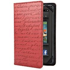 Verso Artist Series Case Cover for Kindle Fire, Cities, Red --- http://www.pinterest.com.itshot.me/66