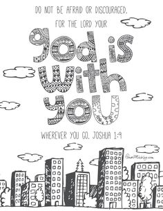 I Love Summer Coloring Pages Awesome 11 Bible Verses to Teach Kids with Printables to Color Bible Verses For Kids, Printable Bible Verses, Kids Bible, Preschool Bible, Bible Scriptures, Joshua Bible, Joshua 1, Images Minecraft, Minecraft Buildings