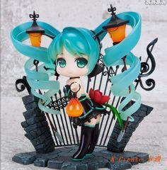 32.66$ Buy here - http://alibz8.shopchina.info/go.php?t=1539195163 - Free shipping newest anime 1pcs Hatsune Miku on streetlight style pvc figure toy tall 15cm.1pcs cute feat fish miku doll sell. 32.66$ #buyonline