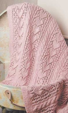 HEIRLOOM HEARTS BLANKET PATTERN patternworks . Valentine's Day and heart free knitting patterns at http://intheloopknitting.com/valentines-day-free-knitting-patterns/