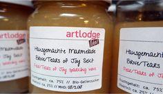 hausgemachte marmelade Den, Bottle, Marmalade, Home Made, Flask