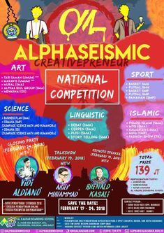Al Kausar Boarding School Proudly Present ALPHASEISMIC 2018 We are calling out all creative peeps to come and ... info lebih lanjut cek di https://goo.gl/xQft97 #jadwaleventjakarta #jadwalevent #jadwalacarajakarta #infobazaarjakarta #infoeventjakarta