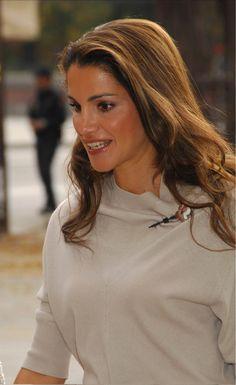 Queen Rania of Jordan.....2014