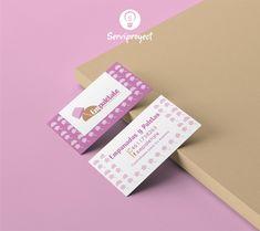 Tarjetas de presentación. Tarjetas para paleterías. Tarjetas creativas. Creative Cards, Business Cards, Creativity, Blue Prints