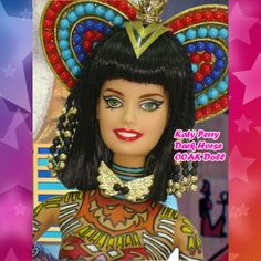 Katy Perry Dark horse ooak doll