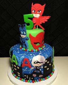 #pjmasks #pjmaskscake #birthdaycake - onceuponacakeleduc
