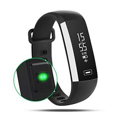 AOKII Fitness Tracker Wireless Waterproof Activity Wristband Smart Bracelet with Sports Pedometer *** Be sure to check out this awesome product.