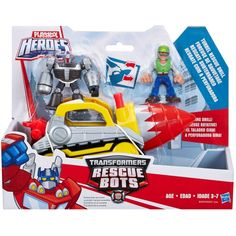 Playskool Heroes Transformers Rescue Bots Adventure Pack - Tunnel Rescue Drill