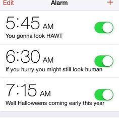 13 Hilarious Alarm Clock Labels to Help You Get UP #funnypictures #funnyalarms #humor #lol