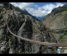 le trift bridge en suisse