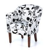 Found it at Wayfair - Barrel Chair - for living room