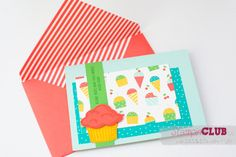 20150510 Stampin Up Worte die gut tun Sprinkles of Life Bunte Party Designerpapier Cherry on Top DSP_-4