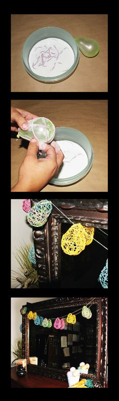 Summer Fun: Hemptique DIY: Mod Podge and a Water Balloon Diy Mod Podge, Plant Fibres, Water Balloons, Hang Tags, Candle Making, Twine, Hemp, Summer Fun, Biodegradable Products