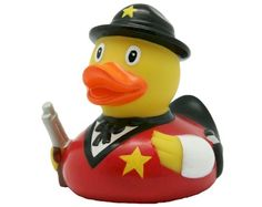 4.21 EURO Rubber Duck Sherif LILALU Sheriff, Rubber Duck, Donald Duck, Ducks, Christmas Ornaments, Toys, Collections, Gift, Love Sick