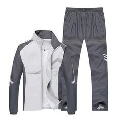 Cheap Men's Sets, Buy Directly from China Suppliers: Plus Size Men Sportswear Spring Sporting Suits 2018 New Autumn Printing Pattern Jacket + Pants 2 Piece Casual Set Tracksuit Mens Jogging Suits, Mens Suits, Costume Sports, Two Piece Clothing Sets, Running Suit, Jacket Pattern, Outfit Sets, Sport Outfits, Scrappy Quilts